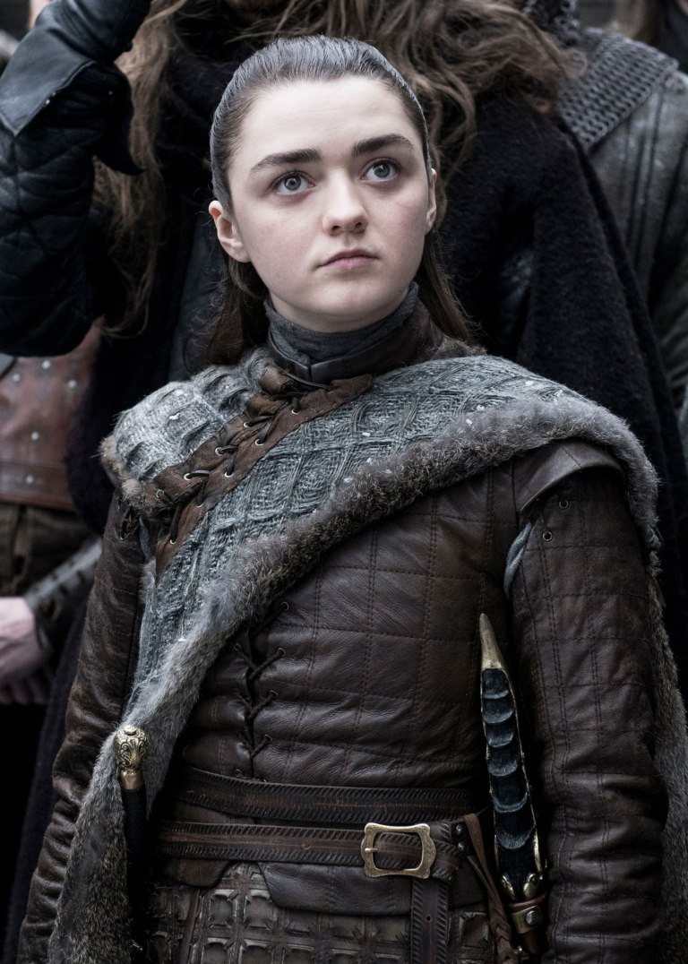 Arya Stark new weapon