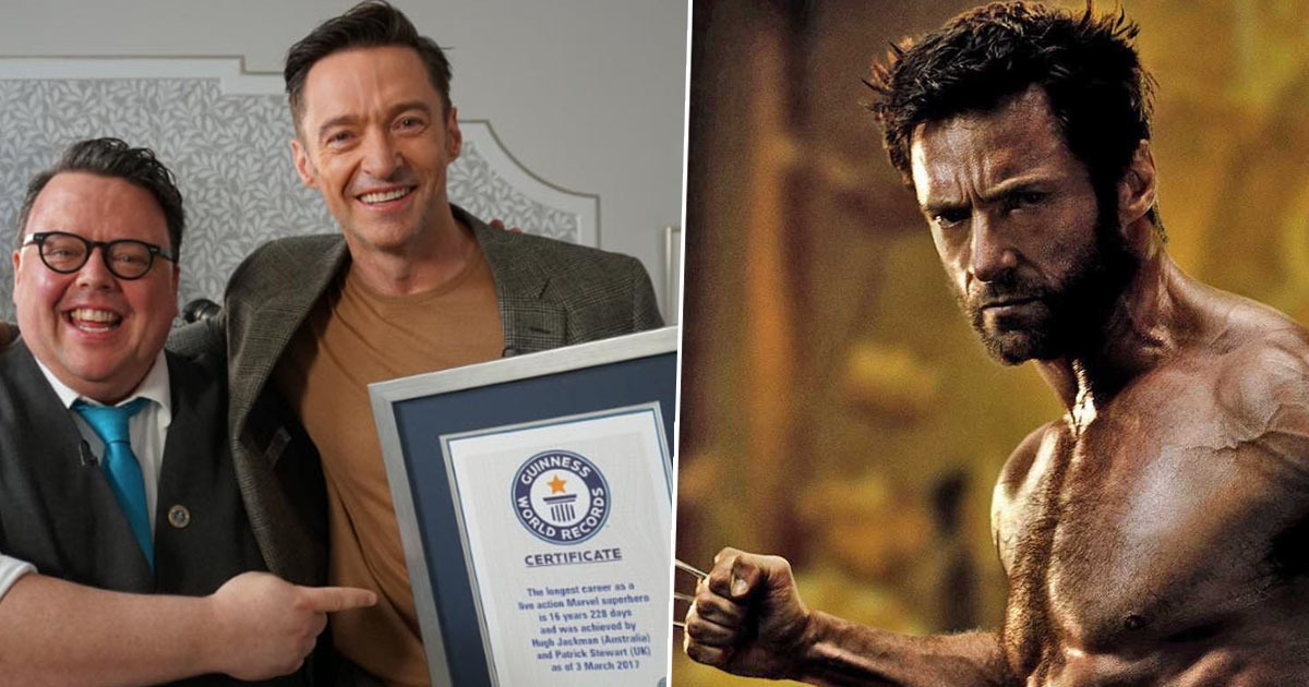 Hugh Jackman gets Guinness World Record