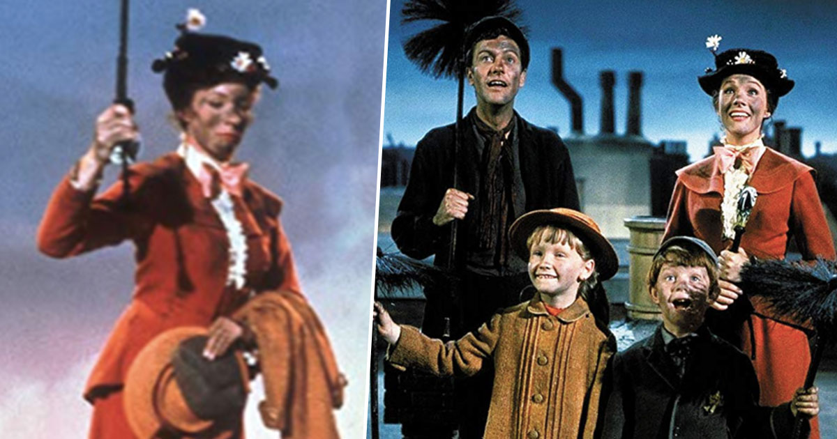 Mary Poppins accused of blackface