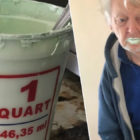 Grandad Eats Half A Can Of Paint Thinking It's Yogurt