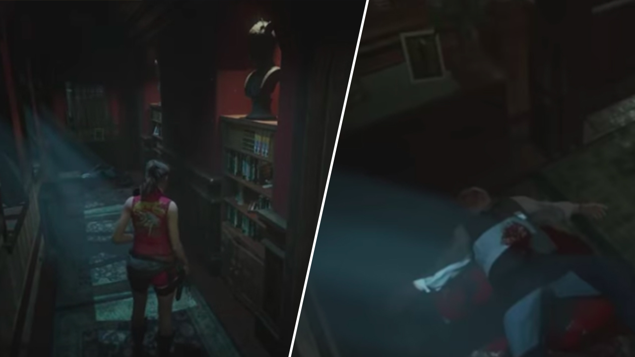 Resident Evil 2 Remake Reimagined With 'Classic' Fixed Camera Angles