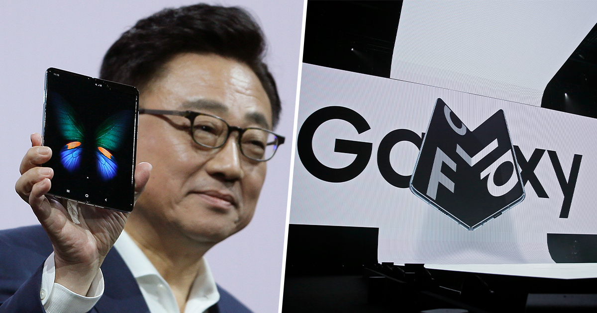 Samsung CEO and the Galaxy Fold