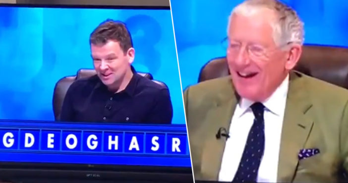 Man spells out shagger on Countdown.