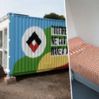 Shipping Containers Transformed Into Refuge For Homeless People