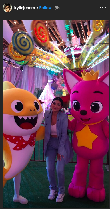 kylie jenner in Stormiworld