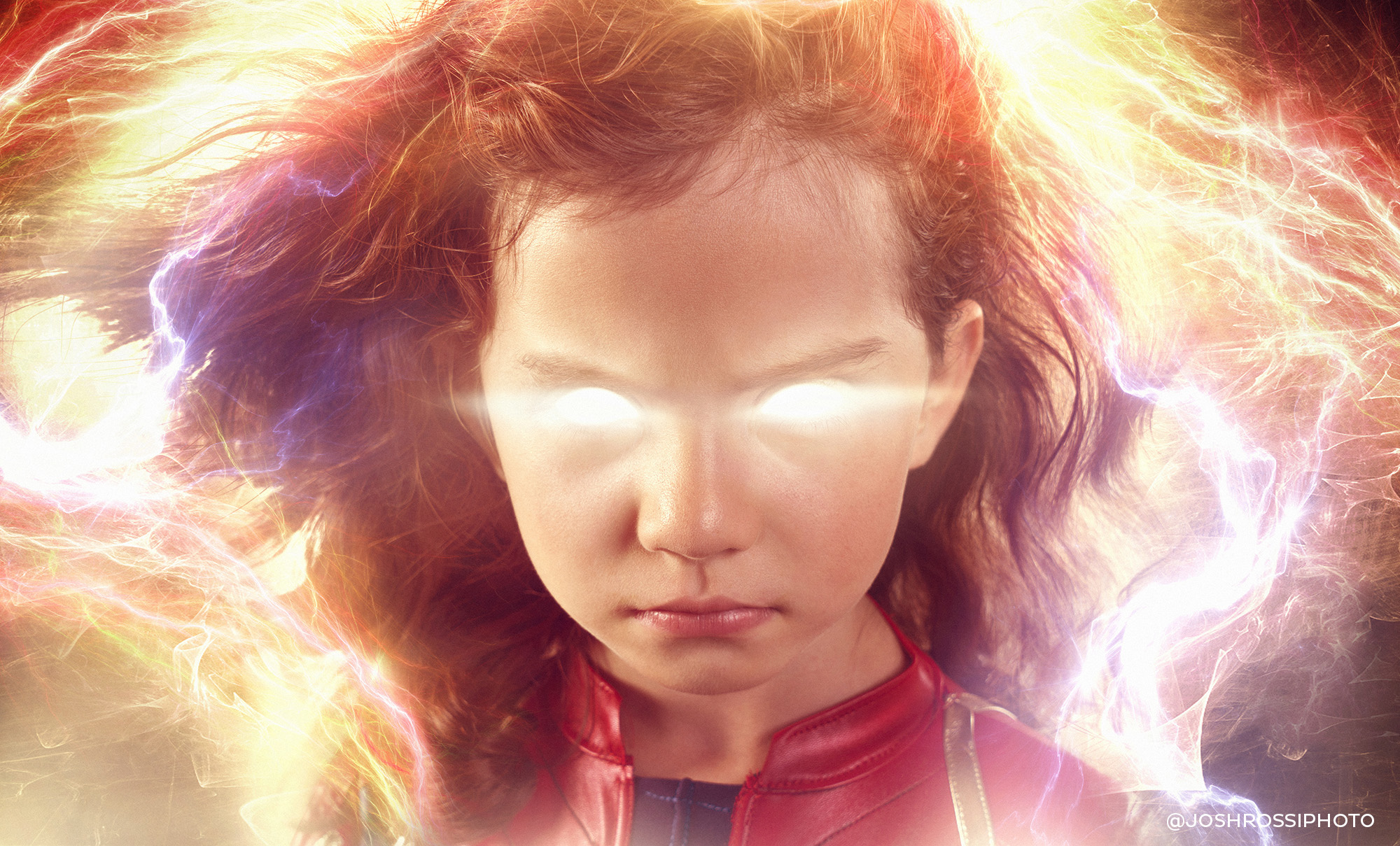 five-year-old as captain marvel