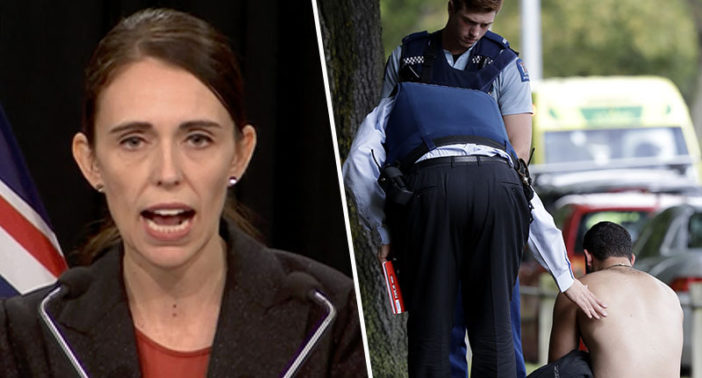New Zealand prime minister describes attack as terrorism.