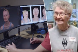 82-year becomes elder scrolls NPC