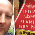Man Ignores Flaming Fiery Eight-Chilli Curry Warning With Horrendous Consequences