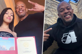Dr Dre gloats about daughter getting into college