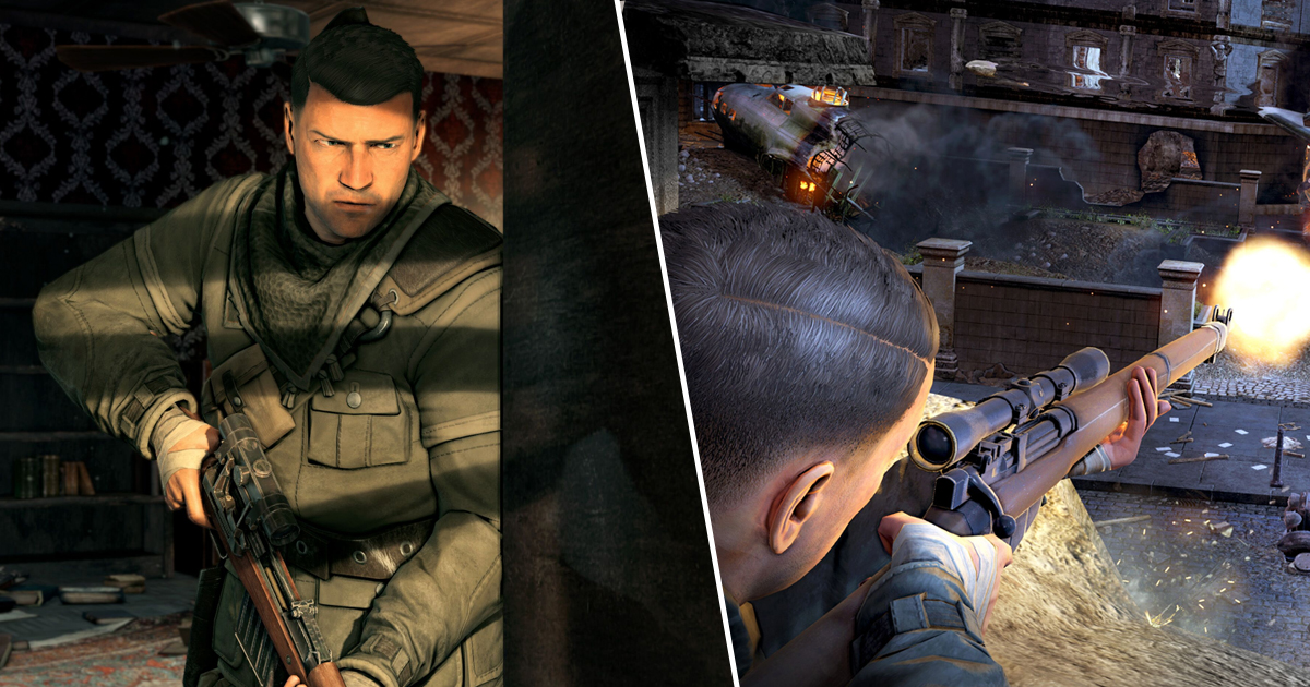 Trying To Snipe With Hdr Graphics: Sniper Elite V2 Remaster Announced Alongside Multiple New