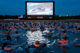 You can now watch Jaws while in the water.