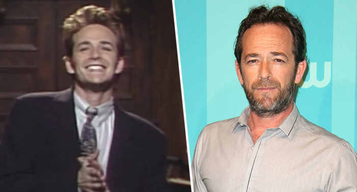 Luke Perry's SNL episode is set to air.