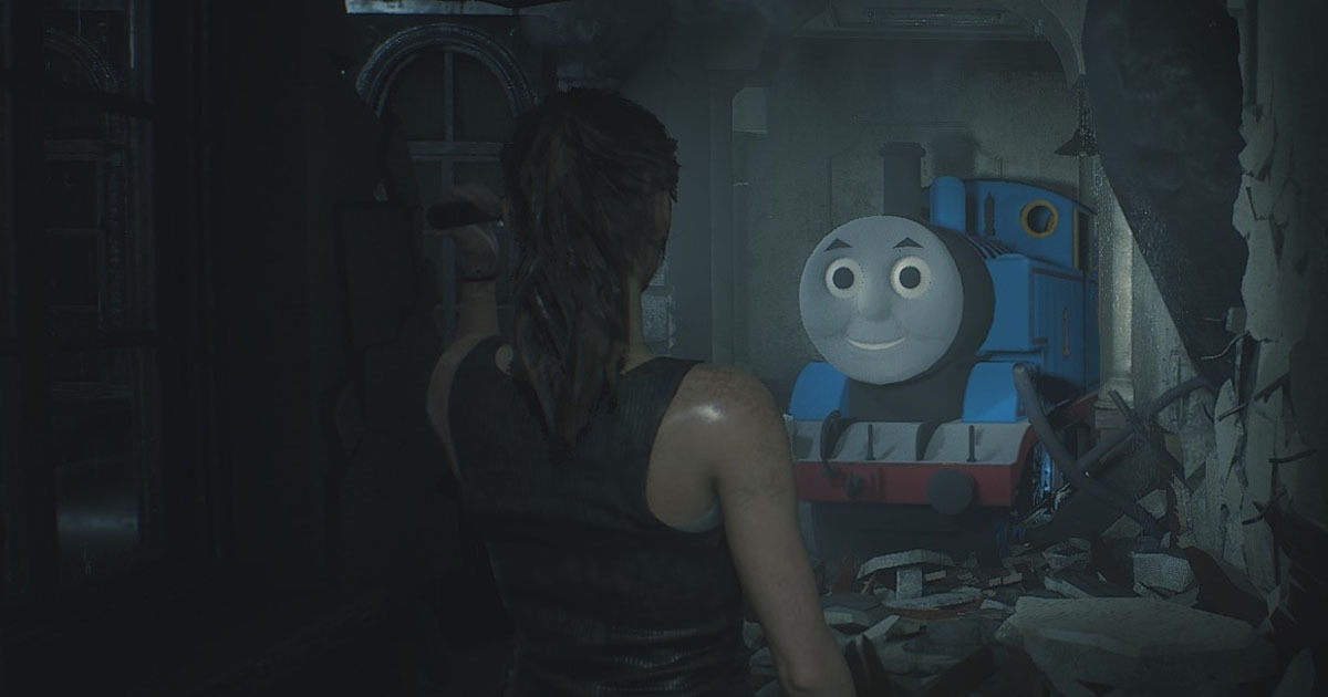 Thomas The Tank Engine Resident Evil