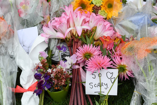 CHRISTCHURCH Flowers victims