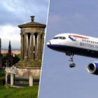 British Airways Plane Lands In Edinburgh By Accident