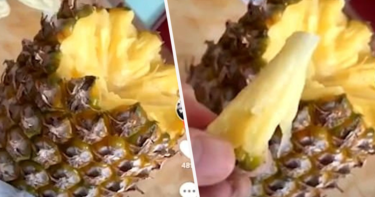 Image result for how to eat a pineapple