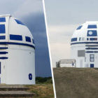 German Professor Who Is Hardcore Star Wars Fan Repaints Observatory As R2-D2