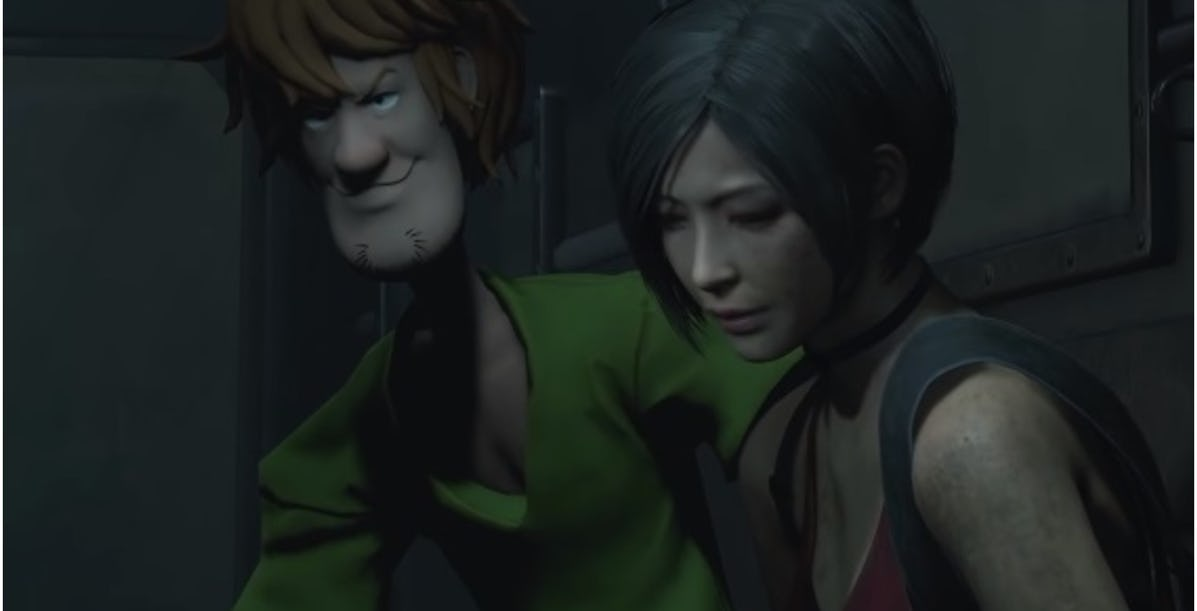 Watch Shaggy Take On 10 Mr Xs In Resident Evil 2 Mod Unilad
