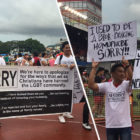 Christians Attend Pride Event To Apologise For Treatment Over LGBT Community