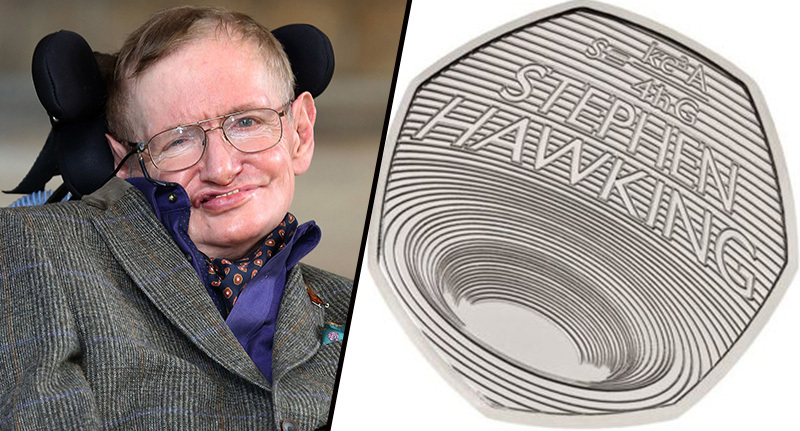 stephen hawking/new 50p coin