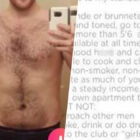 Topless Guy On Tinder Rinsed For Huge 'List Of Requirements' For Matches