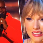 Taylor Swift Cringes At T-Pain's Awkward Joke About Her Boobs
