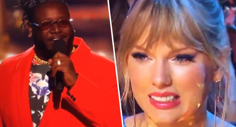T-Pain and Taylor Swift