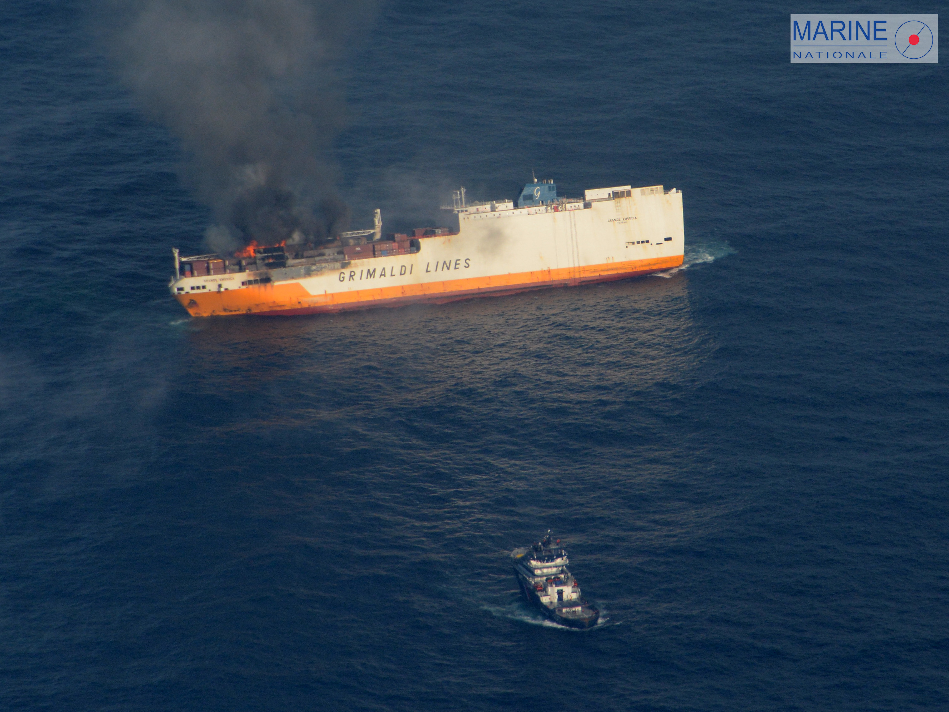cargo ship sinks with 2000 cars