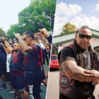 New Zealand Gang Perform The Haka Outside Christchurch Mosque