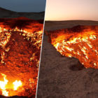 Drone Captures Amazing Footage Of The Door To Hell