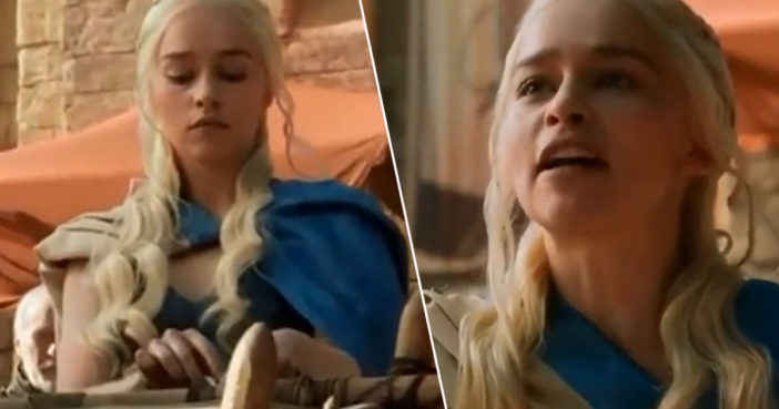 GOT Fans Share Iconic Scene Emilia Clarke Filmed After She Almost Died