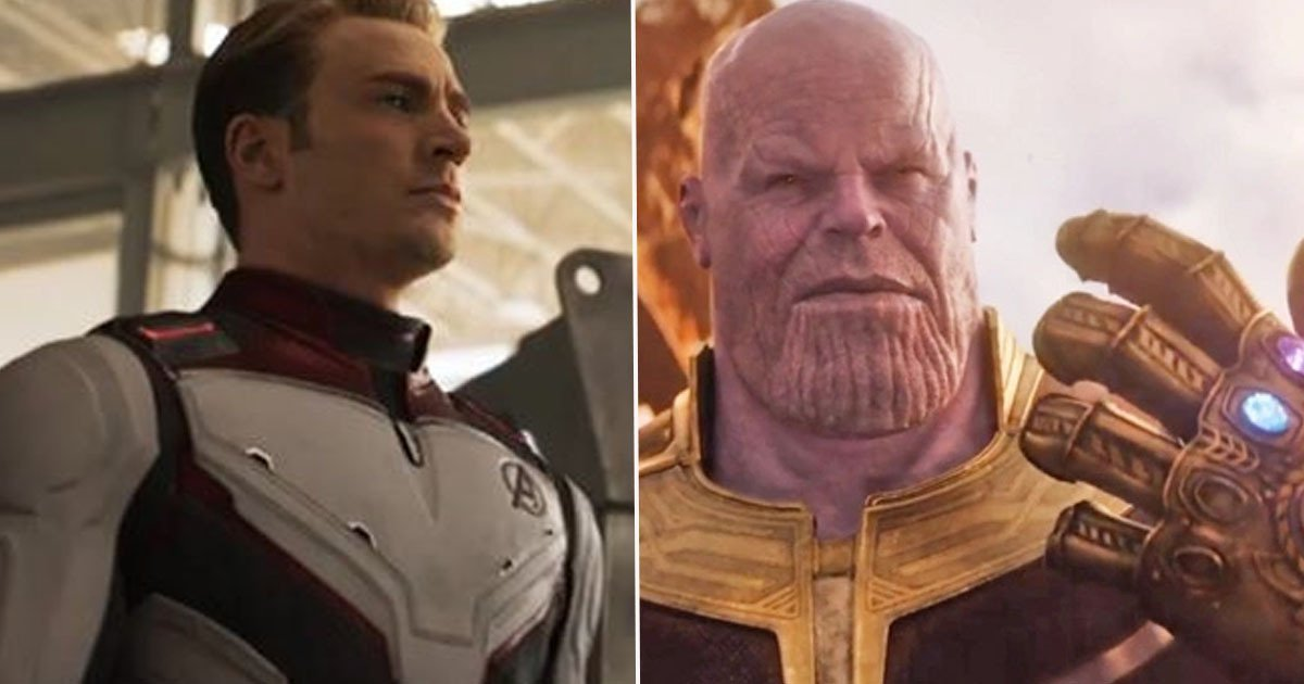 marvel endgame infiity war captain america chris evans thanos josh brolin