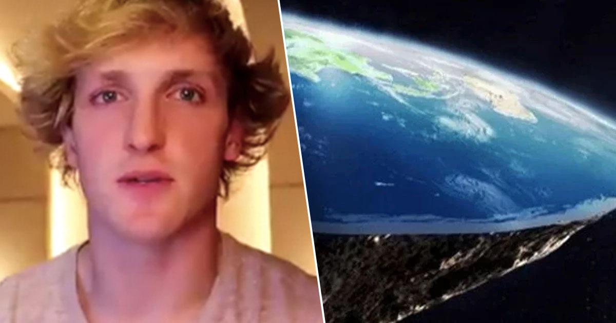 YouTube Star Logan Paul Vows To Prove Earth Is Flat By