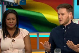 Mum claims being gay is a choice on live TV