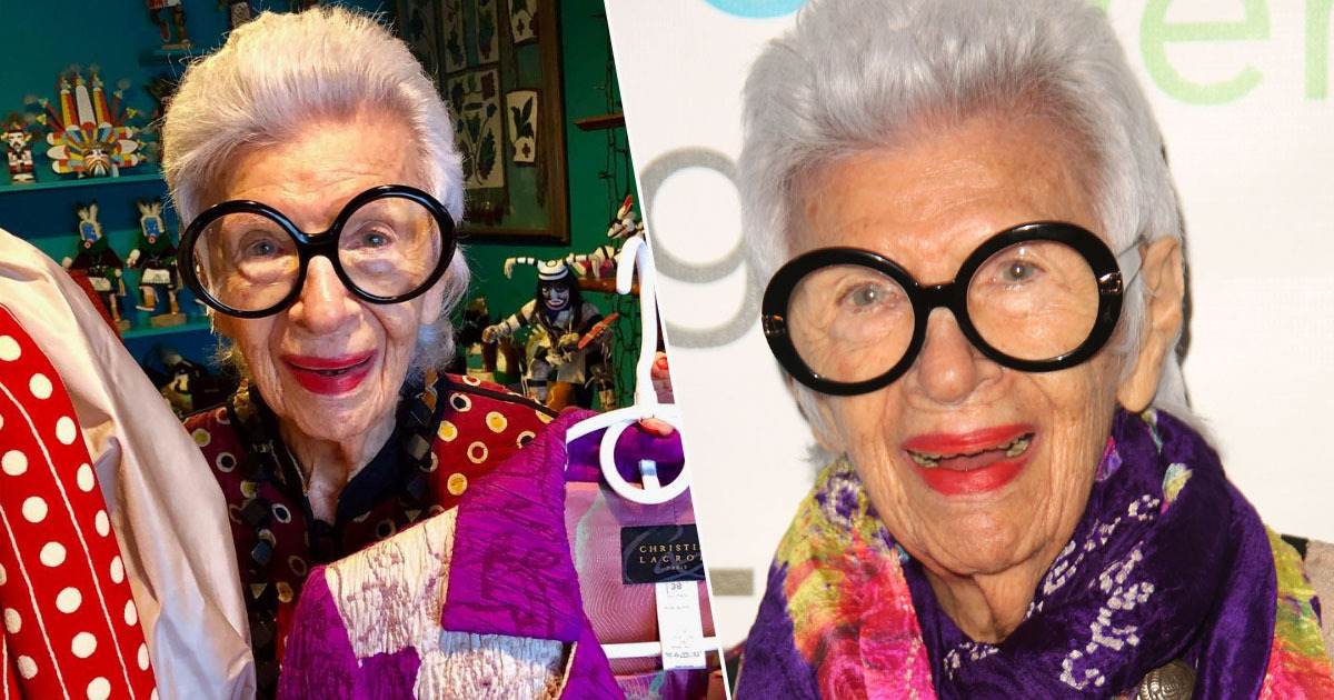 97-year-old gets new modelling job