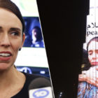 World's Tallest Building Lit Up With Jacinda Ardern Image