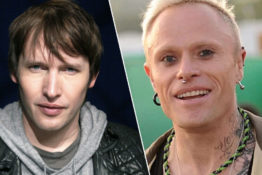 James Blunt pays tribute to Keith Flint