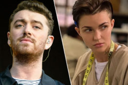 Sam Smith comes out as gender queer.