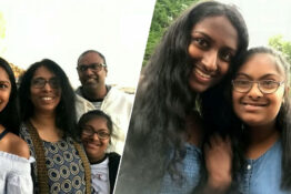 the Suhinthan family