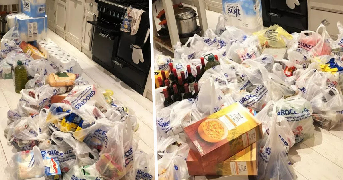 Man buys £600 worth of shopping in case of Brexit no-deal