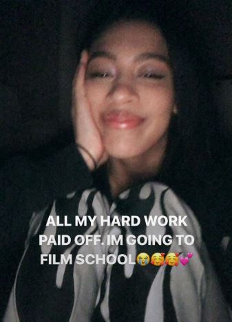 Dr Dre's daughter gets into college