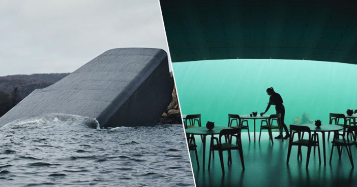 Amazing photographs show new undersea restaurant.