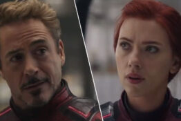 avengers: endgame black widow iron man