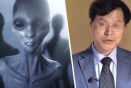 Professor says aliens breed with humans