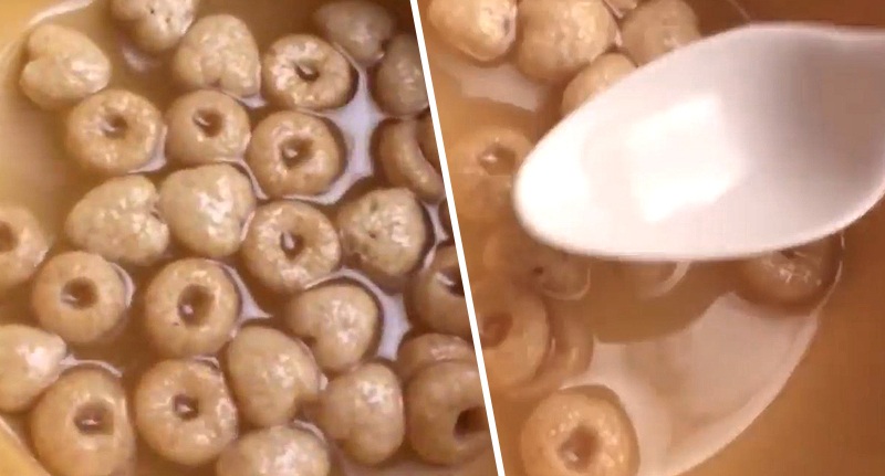 CEREAL with water