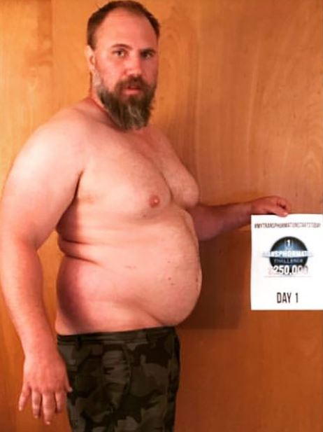 jeremiah peterson weight loss dad ripped physique 92k 5 months