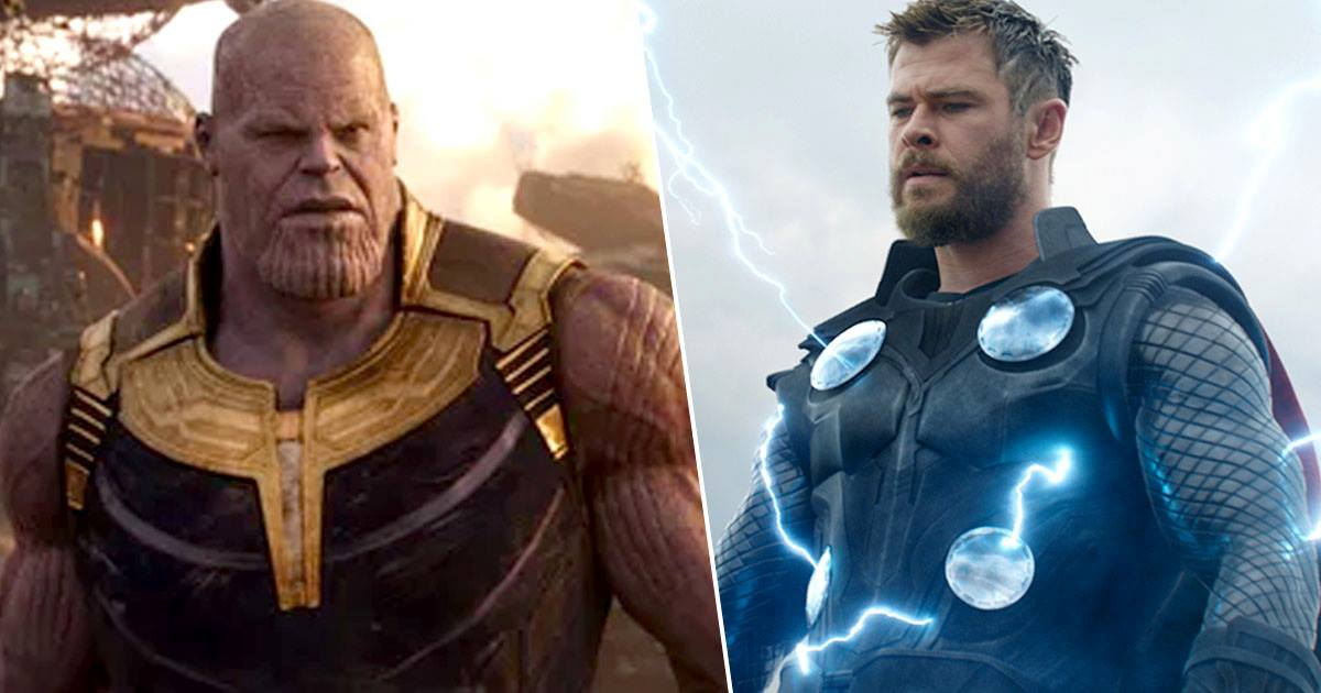 Thanos Thor Josh Brolin Chris Hemsworth Avengers: Endgame record