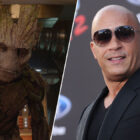 Vin Diesel Dressed As Groot To The Avengers: Endgame Premiere