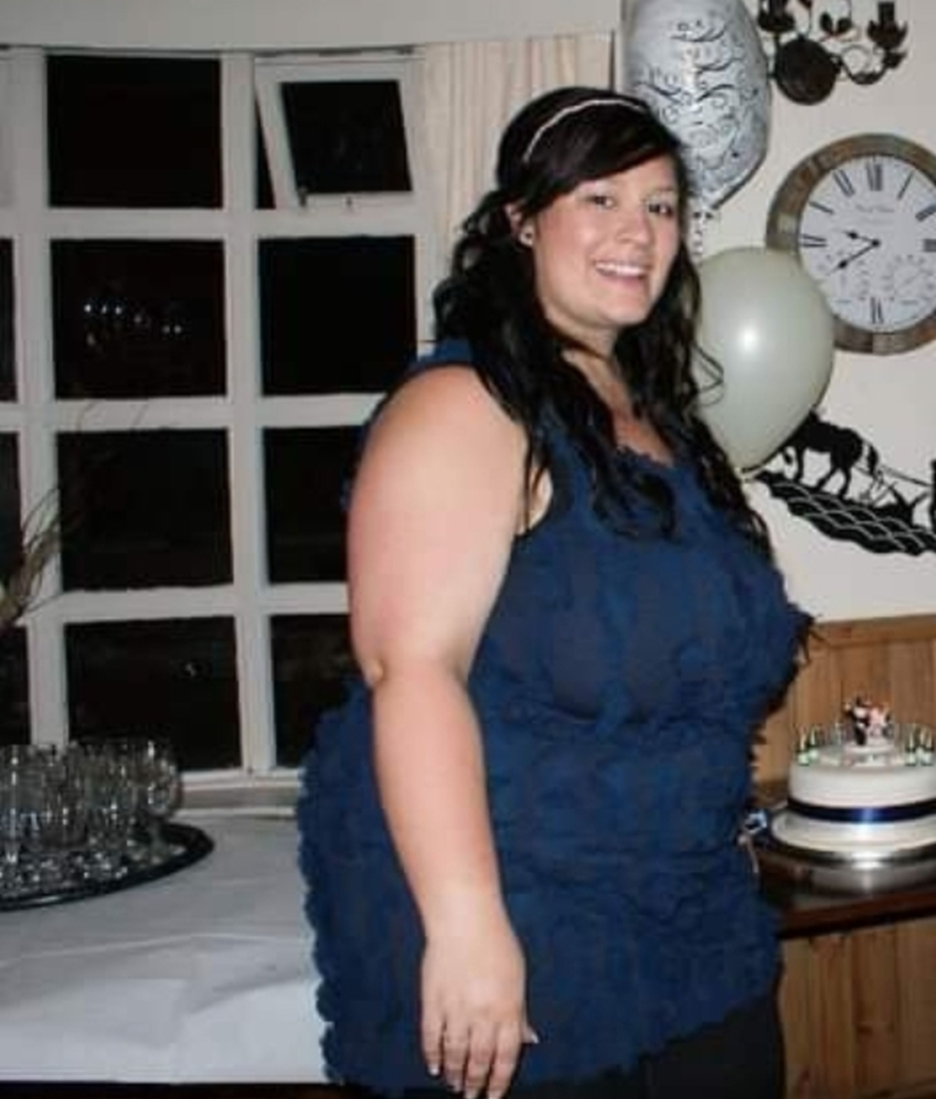 Mum loses weight after guy threw burger at her